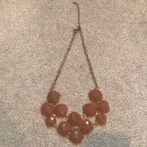 NY & Company Light Brown Statement Necklace